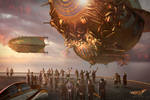 Steampunk Airship Airlords