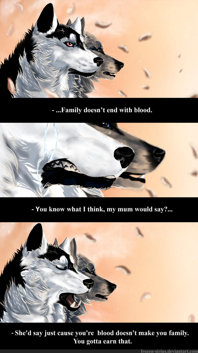 Family End Of The Year Time Capsule: Family Doesn't End With Blood By Anerris On DeviantART