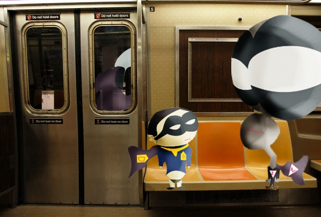 heroes take the metro test 1 by twIzzyIzzy