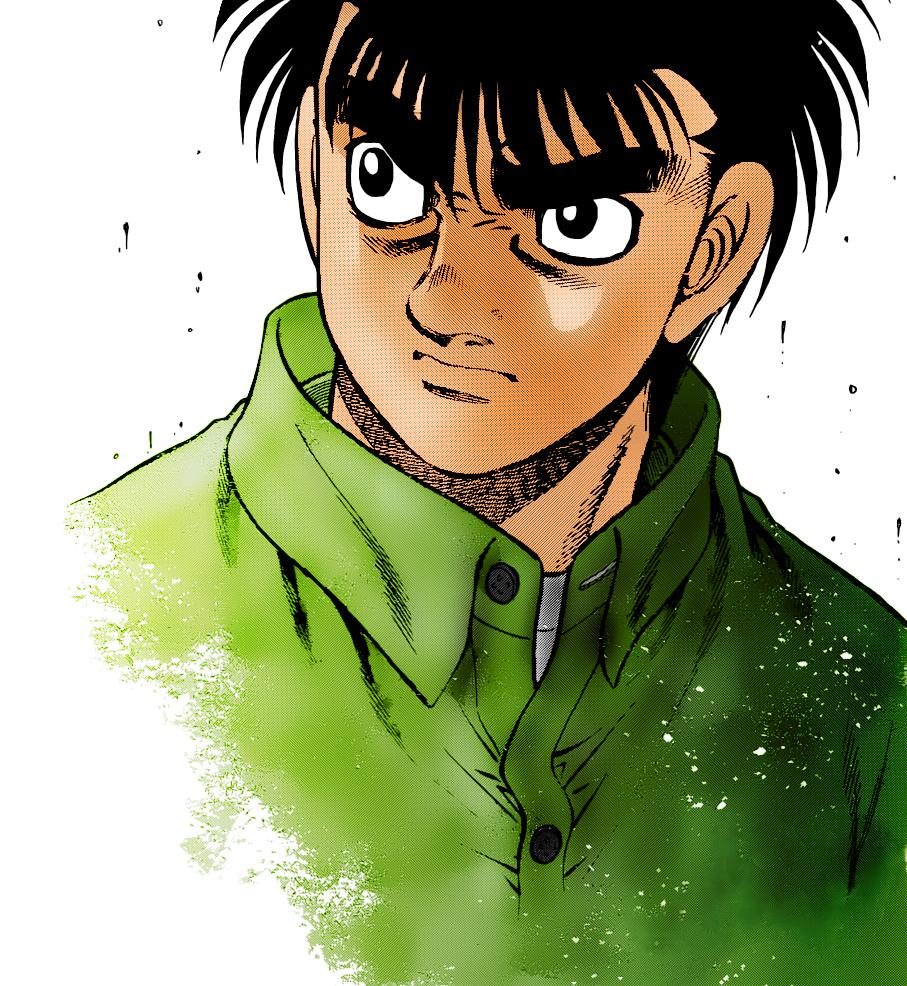 Hajime No Ippo Mangakakalot: Rage By Shyrubio On DeviantArt