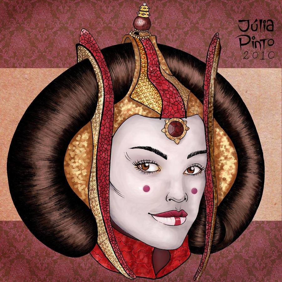 Star wars queen amidala ii by juliapinto on deviantart - Princesse amidala star wars ...