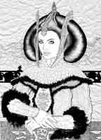 Star Wars - Queen Amidala III by juliapinto