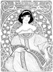 Disney Fan Art - Snow White by juliapinto