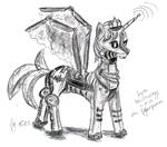 Lyra Heatstrings - the Cyberqueen by TheGoldenAquarius
