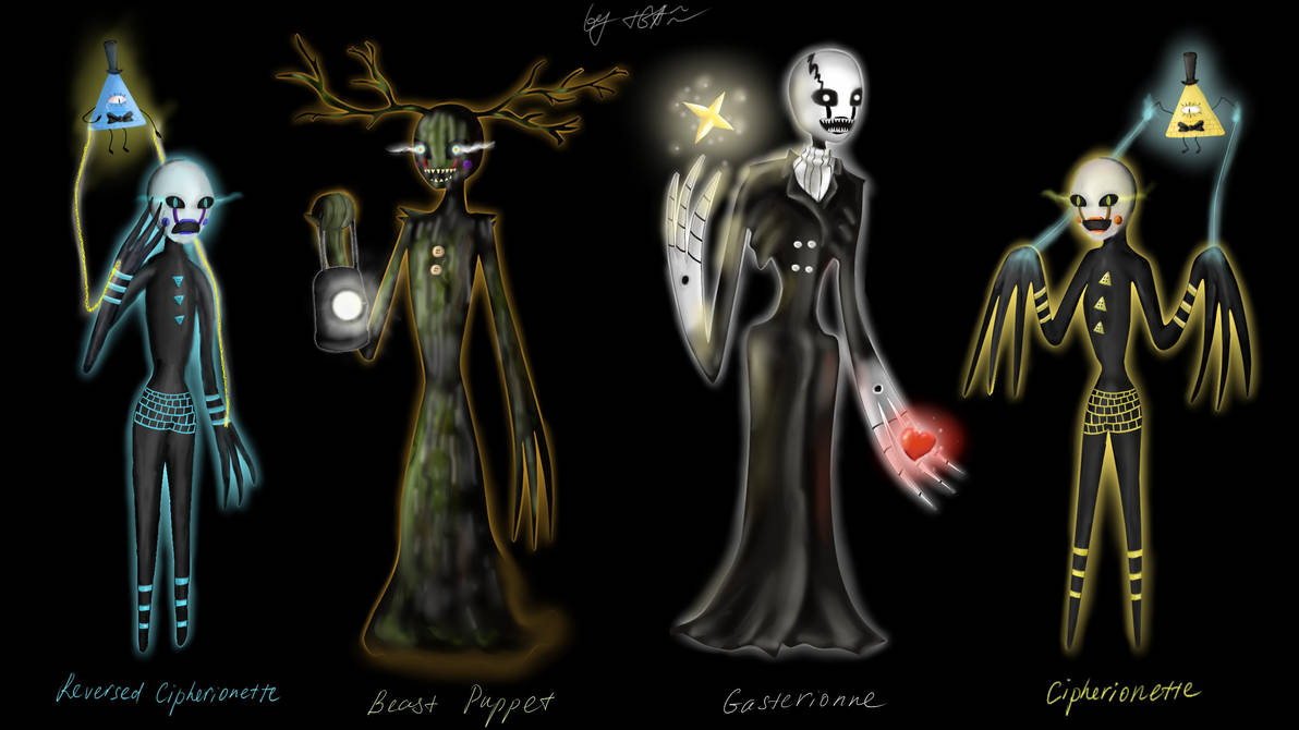 Four Puppets