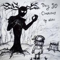 Inktober 2020|Day 30 - Ominous - Beast and Greg