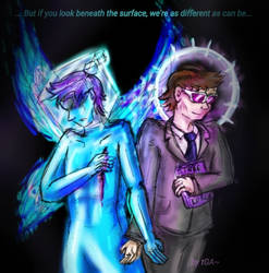 The Eternal Stage AU - Animdude and Scott