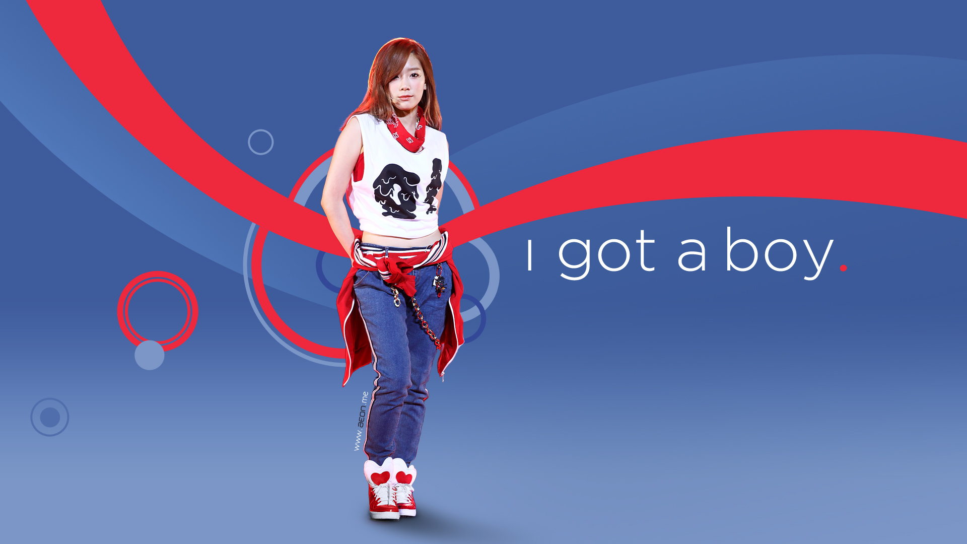 Taeyeon - I Got a Boy wallpaper by JeanV