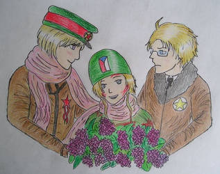 Liberation of Czech Republic (8th May 1945) by Veronica-for-Cuba