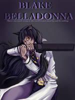 Blake Belladonna-RWBY by NemiCrow