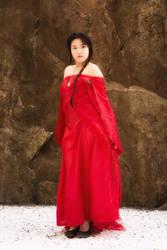 Frozen in Red by RenderRose