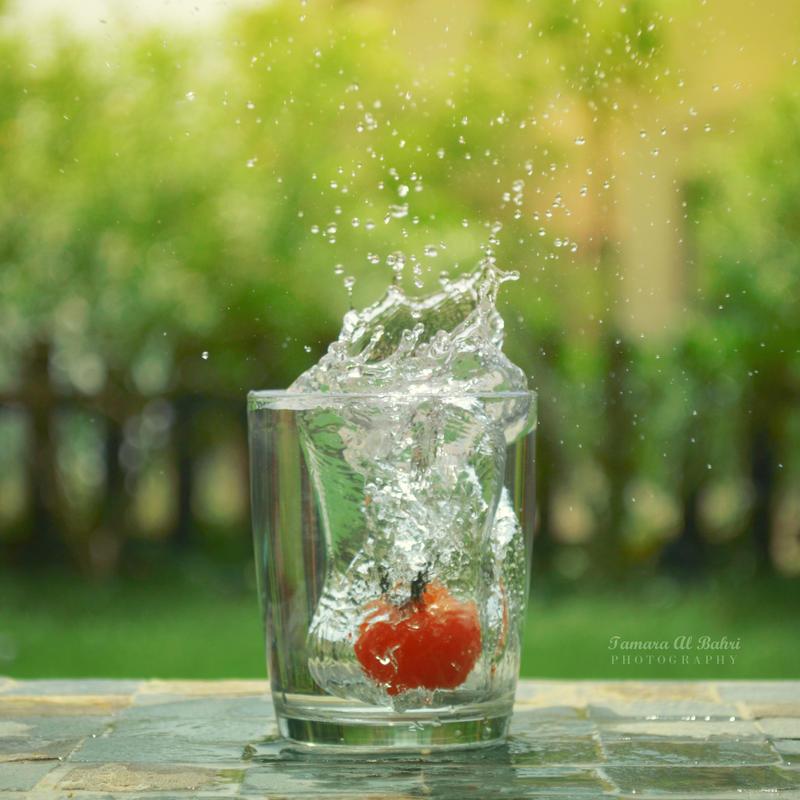 tomato splash ii by dandelionfield on deviantart