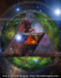 Astral Abstraction IV by synchronicity313