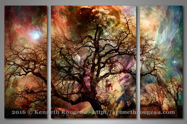 Heaven and Earth: The Dream Oak by synchronicity313
