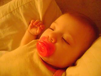 Sleeping Baby by blah4life