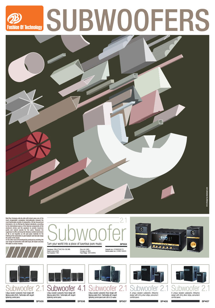 Subwoofers by shawkash