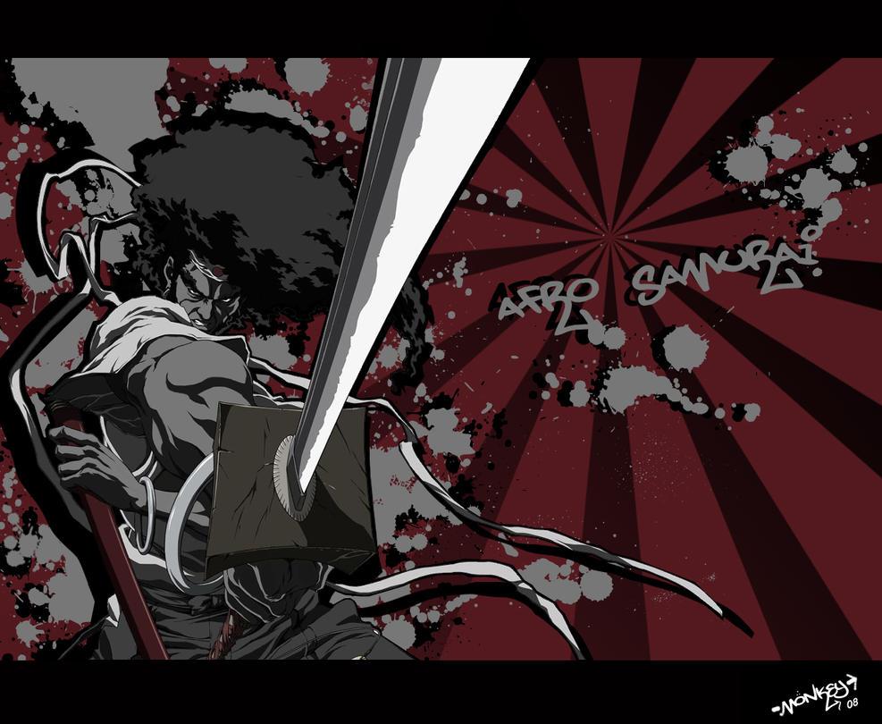 Afro Samuraidizzle by killaxterrasquad