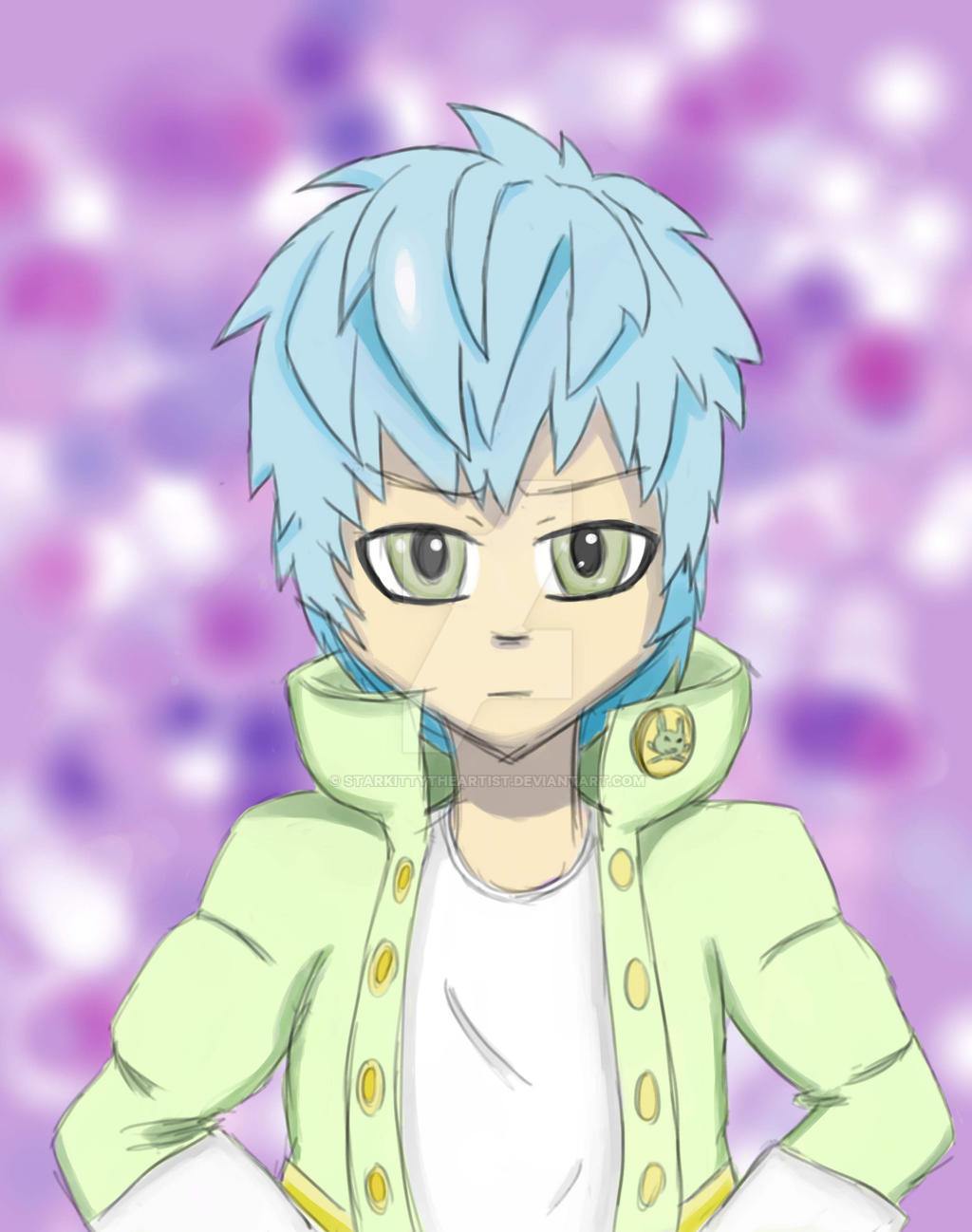 Noiz X Aoba Love Child Dmmd Kiel By Starkittytheartist