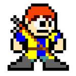 Mega Man Custom Sprite - Dragon Quest VIII Hero