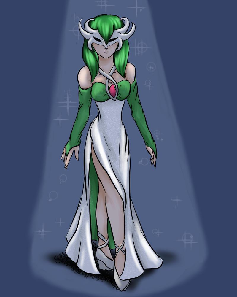 Diamonds masquerade dress by flerna