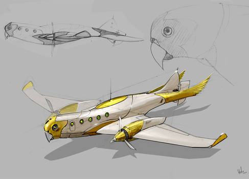 Parrotplane.