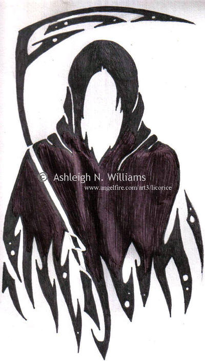 Grim Reaper Tattoo design by ~animelover12281 on deviantART