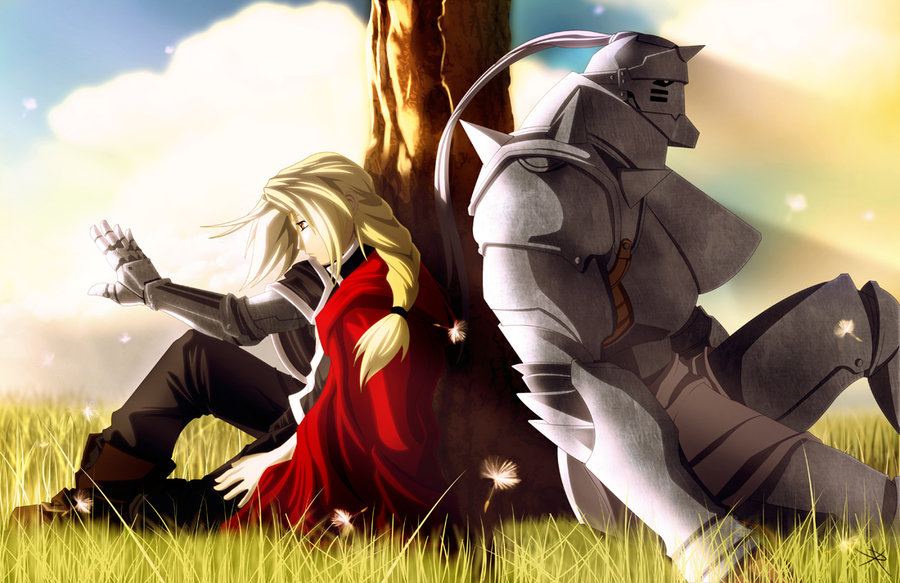 Image result for Fullmetal Alchemist brothers