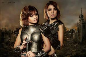 Girls in armour chapter 2 by fenixfatalist