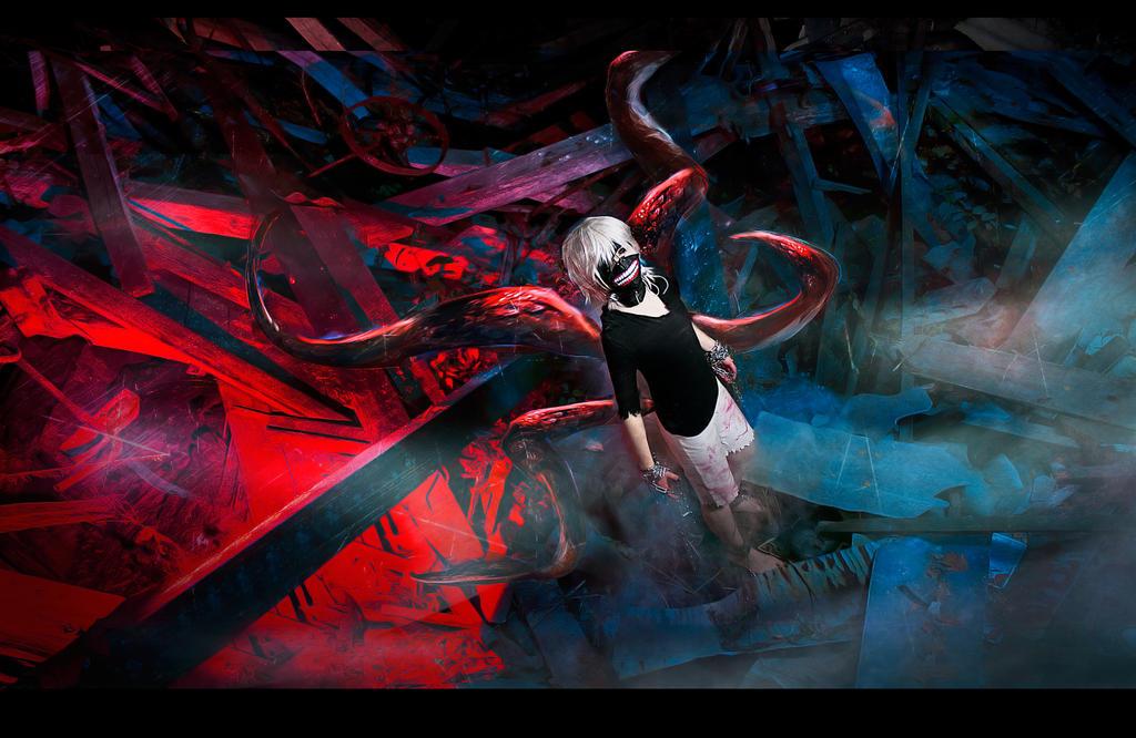 Tokyo Ghoul - Freedom by fenixfatalist
