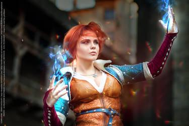 Witcher - The Sorceress by fenixfatalist