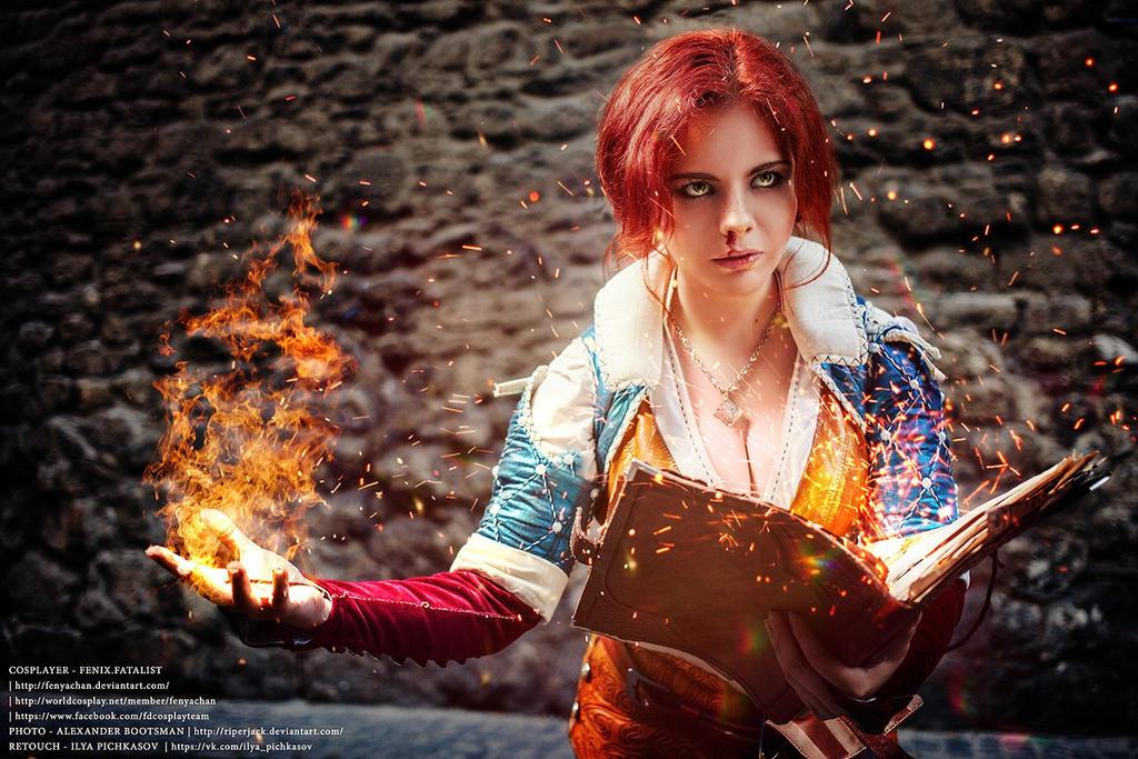 Witcher - Triss Merigold by Fenyachan
