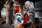 The Witcher - Triss and Geralt