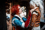 The Witcher - Triss and Ciri