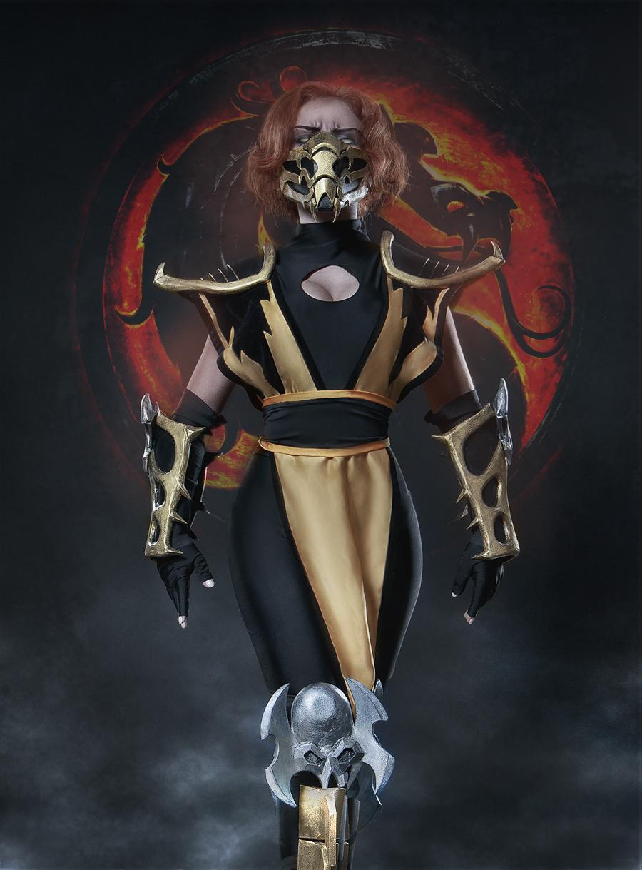 Scorpion - Mortal Kombat by fenixfatalist