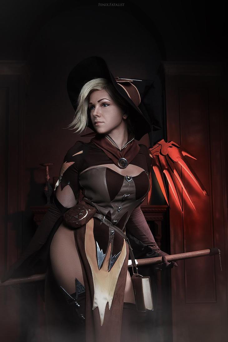 Halloween Mercy by fenixfatalist