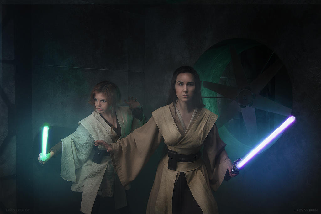 Master and padawan by fenixfatalist