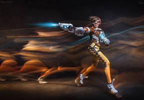 Tracer - Overwatch by fenixfatalist