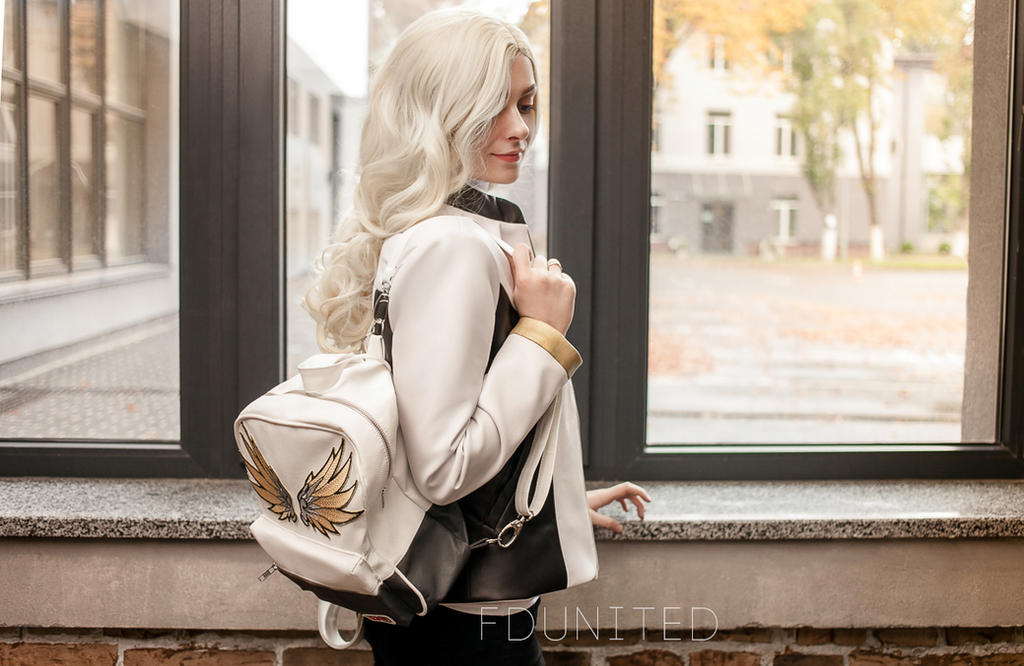 My design work - Overwatch Mercy Clothing Design by fenixfatalist