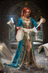 Witcher 3: Wild Hunt - Triss Merigold DLC Project by fenixfatalist
