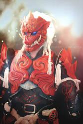 Odoragon - Monster Hunter World by fenixfatalist