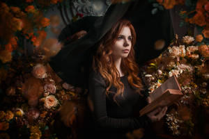 Flower Witch by fenixfatalist by fenixfatalist
