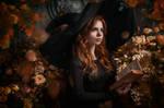 Flower Witch by fenixfatalist