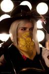 Owerwatch - Ashe cosplay photo by fenixfatalist