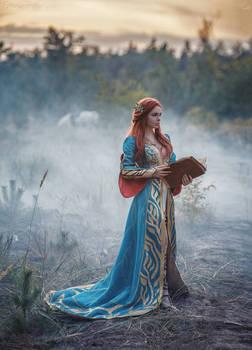 Triss Merigold cosplay By Fenixfatalist