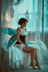 Carnival Row fairy by fenixfatalist