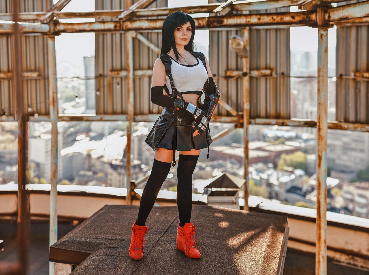 Final Fantasy VII Remake - Tifa Lockhart Cosplay