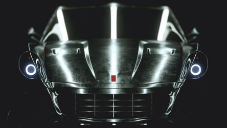 Ferrari 599  - free wallpaper - Octane render C4D