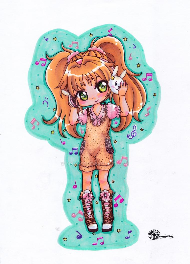 OC- Yuzuki by Drunny