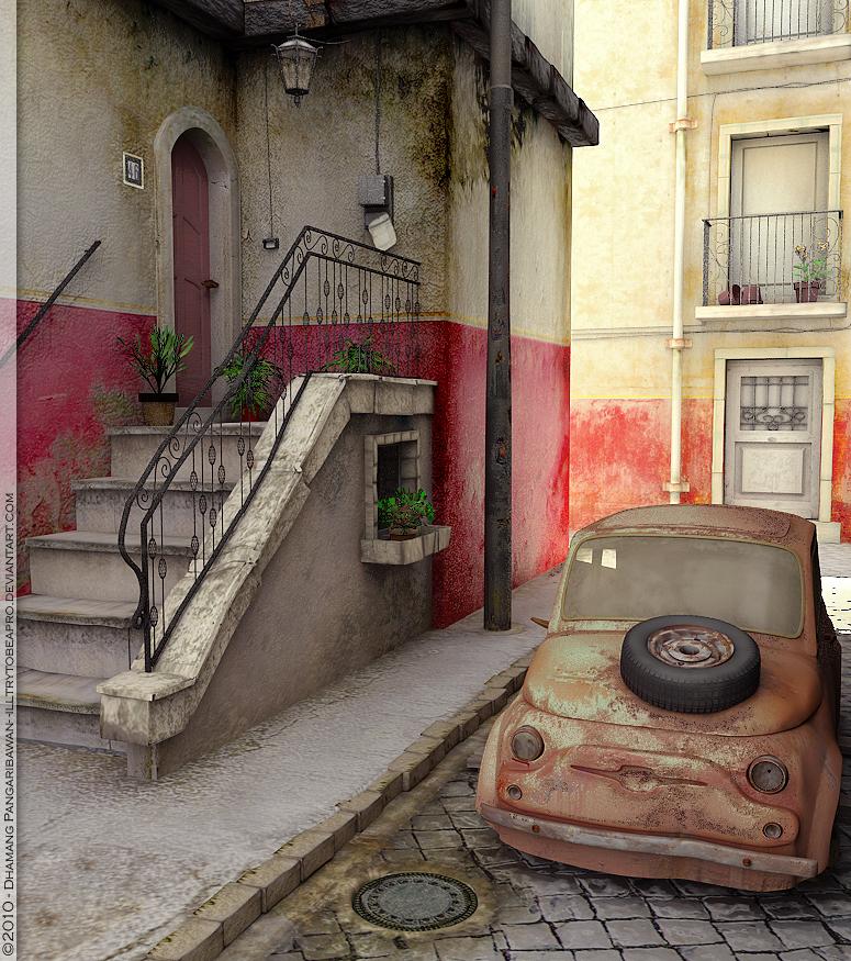 Somewhere at Rome by illtrytobeapro