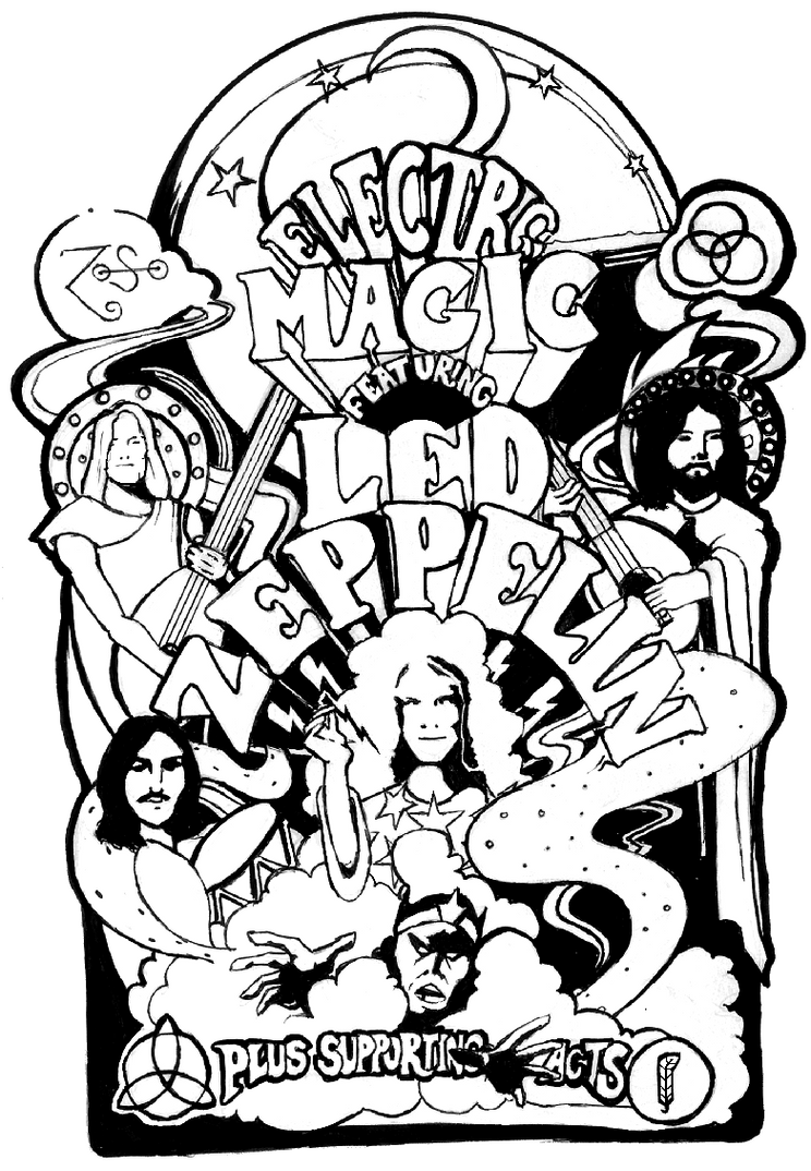 Led Zeppelin Poster By Josh52 On Deviantart